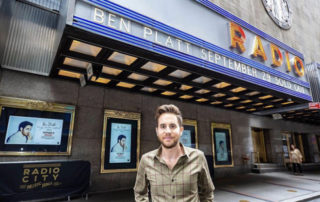 Ben Platt outside Radio City Music Hall