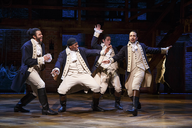 Hamilton Original Broadway Cast