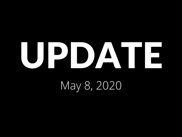 Update: May 8, 2020